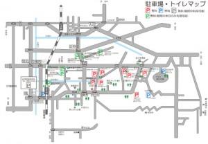 【益子秋の陶器市】駐車場情報(無料・有料)・トイレ情報tags[栃木県]
