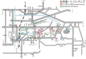 【益子春の陶器市】駐車場情報(無料・有料)・トイレ情報tags[栃木県]