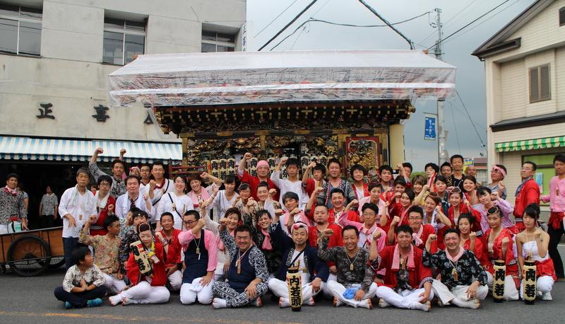益子祇園祭最終日